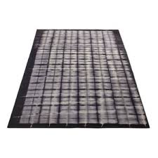 Black And White Checkered Area Rug Modern Plaid Area Rugs Allmodern