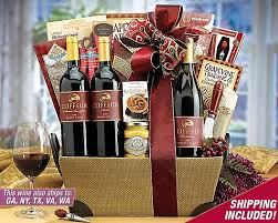 Country Wine Basket 22 Best Christmas Gift Baskets Images On Pinterest Christmas