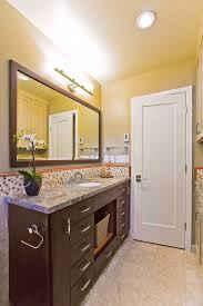Bathroom Cabinet With Hamper Narrow Bath Vanity Bathroom Eclectic With Bathroom Mirror Bathroom