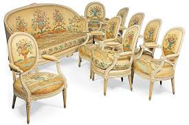 Louis Seize Chair A Suite Of Louis Xvi Furniture Is Up For Auction At Christie U0027s