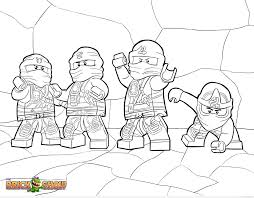 new ninjago coloring pages timykids