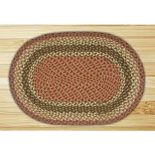 Braided Throw Rugs Braided Indoor Rug Woodlanddirect Com Fireplace Hearth Rugs