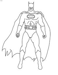 coloring pages batman 19986