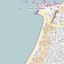 bureau de poste biarritz boites aux lettres et postes biarritz 64 carte et plan