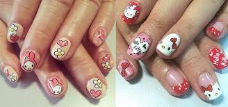 hello kitty nail art designs girlshue