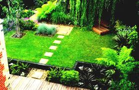 homes gardens small garden designs in home