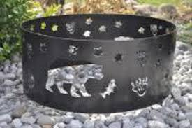 rings with fire images Fire pit rings 14 gauge steel plasma cut rebel metal works fire jpg