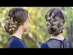 updos cute girls hairstyles youtube french braid updo homecoming hairstyle cute girls hairstyles