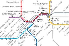 Valley Metro Light Rail Map by If La U0027s Trains Disappeared A Walking Map Of Metro Curbed La