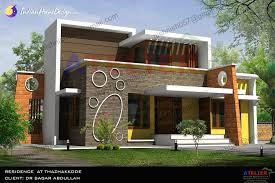 contemporary home design indian home design single floor contemporary in 1350