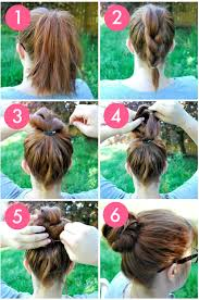 step to step hairstyles for medium hairs 27 easy five minutes hairstyles tutorials pretty designs