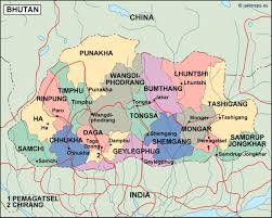 China Political Map by Bhutan Political Map Eps Illustrator Map Our Cartographers Have