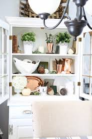 how to style a dining room hutch just a and her blog