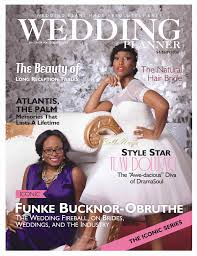 wedding planner magazine here comes the temi dollface covers wedding planner
