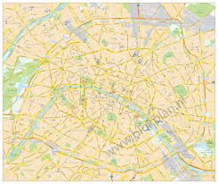 Metro Map Paris by Paris Vector Maps Vector Kaarten Vector Karte