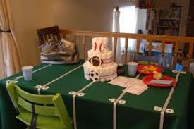 sports theme baby shower sports themed baby shower ideas