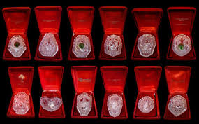 waterford 12 days of complete ornament set