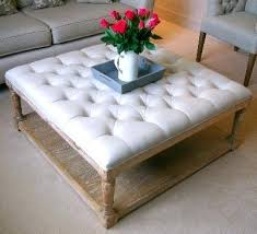 Cushioned Ottoman Cushioned Coffee Table Upholstered Coffee Table Delicious