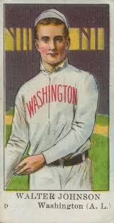 top walter johnson baseball cards vintage tobacco rookies best