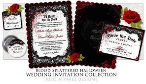 skull wedding invitation template tags halloween wedding