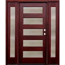 52 x 80 wood doors front doors the home depot