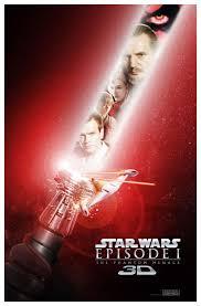 star wars episode i the phantom menace 3d 2012 movie posters