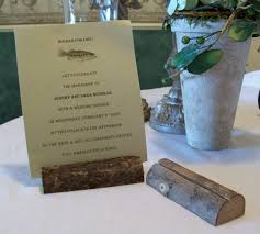 rustic place card holders for weddings and from 5 rental