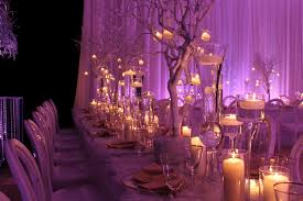 wedding candle centerpieces decor flowers and lighting by us davinci florist