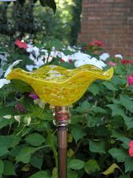 butterfly feeder blown glass garden artisans llc