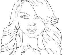 nicki minaj coloring sheets gallery marvelous draw jack lantern