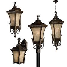 Vintage Outdoor Lights Vintage Outdoor Lighting With Regency Bronze Finish Traditional