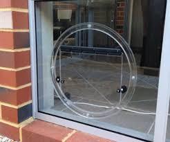 doggy door glass door glass pet doors perth wa glass pet doors