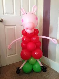 pig balloons 259 best peppa pig birthday party ideas images on