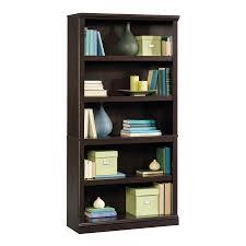 Sauder Bookcase Shop Sauder Jamocha Wood 5 Shelf Bookcase At Lowes
