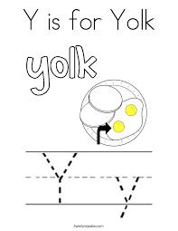 letter y coloring pages twisty noodle