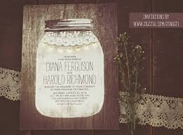 jar wedding invitations jar wedding invitations with