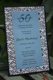Birthday Invitation Cards Free Download Template Classic 50th Birthday Invitation Cards Samples With Green