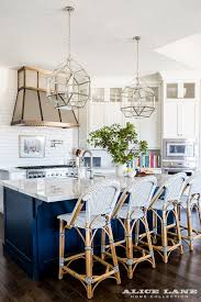 white kitchen cabinets with blue island white kitchen with navy blue island reno ideas home bunch