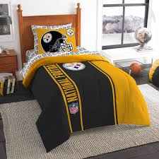 amazonbasics bedding sets with more ease bedding with style the northwest company northwest steelers soft cozy twin comforter set
