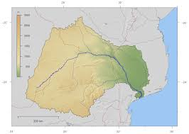 Southern Africa Map Water Scarcity In Southern Africa