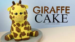 giraffe cake how to make a 3d giraffe cake loukaides