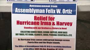 puerto rican new yorkers collect donations in preparation for