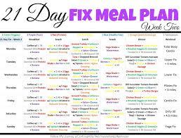 21 day fix diet