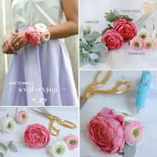 flower bracelet diy images Diy corsage jpg
