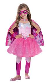 halloween barbie doll barbie super power princess costume to fit 3 5 years amscan