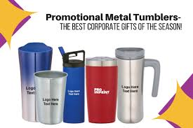 promotional metal tumblers the best corporate gifts of the season