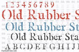 rubber st font fonts4free