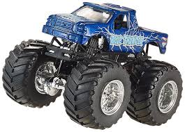 monster truck jams amazon com wheels monster jam launch and smash playset toys