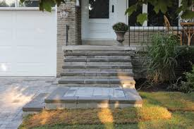Unilock Patio Designs by Front Steps Design Ideas Unilock Roman Pisa Natural Grey