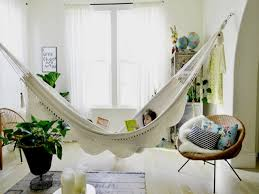furniture accessories comfy cream diy idea indoor hammock